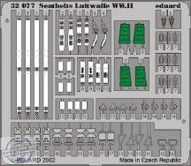 Seatbelts Luftwaffe WWII - 1/32.