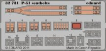 P-51 Seatbelts - 1/32