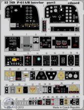 P-61A/B interior S.A. - 1/32 - Hobbyboss