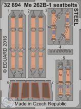 Me 262B-1 seatbelts STEEL -1/32