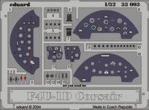 F4U-1 dashboard - 1/32 - Trumpeter