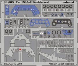 Fw 190A-8 dashboard- 1/32