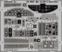 He 111P-1 interior S. A. - 1/32- Revell