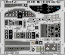 He 111H-6 interior S. A. 1/32 - Revell