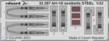 AH-1G seatbelts STEEL - 1/32