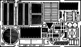 AMX 30/105 -  1/35 - Heller
