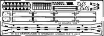 Brummbär armour plates - 1/35 - Dragon