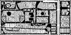 Panther Ausf.G late Zimmerit Vertical - 1/35 - Tamiya