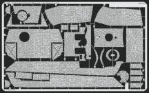 Panther Ausf.G early Zimmerit Horizontal - Tamiya