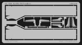 Grille Ausf.M fenders - 1/35 - Alan