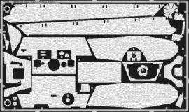 Zimmerit King Tiger Porsche turret - 1/35 - Tamiya