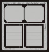 M-113A2 Desert I.F.F./C.I.F. i.d. panels - Tamiya