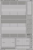 German Truck 3ton 4x2 Cargo floor - Tamiya