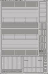 German Truck 3ton 4x2 Cargo floor -  1/35 - Tamiya