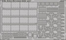 Merkava Mk.IV armour shields -  1/35  - Academy