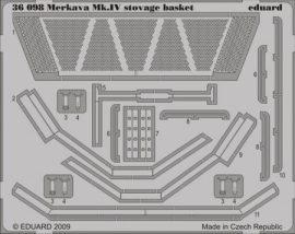 Merkava Mk.IV stowage basket - 1/35