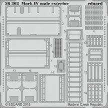 Mark IV male exterior - 1/35 - Tamiya