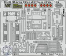 US Army 1/4 ton utility truck w/ trailer - 1/35 - Takom