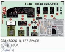 B-17F SPACE - 1/48 - HKM