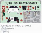 Bf 109G-2  SPACE - 1/48 - Eduard