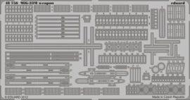 MiG-23M/ML/MF weapon- Trumpeter