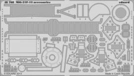 MiG-21F-13 accessories - 1/48 - Trumpeter