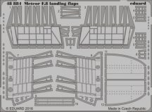 Meteor F.8 landing flaps