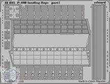 P-40B landing flaps