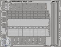 P-40B landing flaps-Airfix