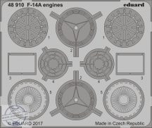 F-14A Tomcat engines-Tamiya