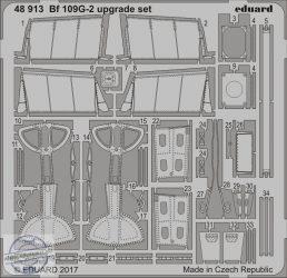 Bf 109G-2 upgrade set - 1/48 - Eduard