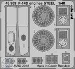 F-14D engines STEEL - 1/48 - Tamiya
