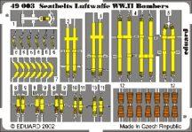 Seatbelts Luftwaffe WWII Bombers