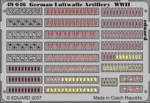 German Luftwaffe Artilery WWII