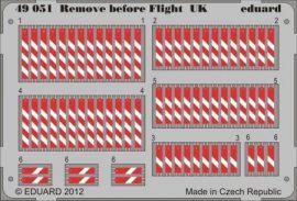 Remove before flight UK - 1/48