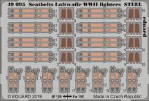 Seatbelts Luftwaffe WWII fighters STEEL