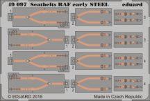 Seatbelts RAF early STEEL - 1/48