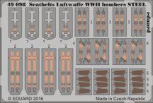 Seatbelts Luftwaffe WWII bombers STEEL