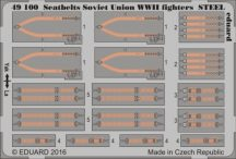 Seatbelts Soviet Union WWII fighters STEEL - 1/48