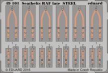 Seatbelts RAF late STEEL