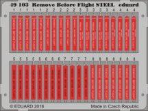 Remove Before Flight STEEL