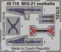 MiG-21 seatbelts STEEL