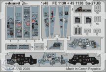 Su-27UB interior - 1/48 - KITTY HAWK