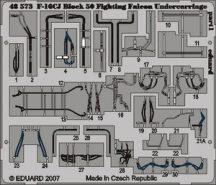 F-16CJ Block 50 undercarriage-Tamiya