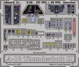 A-10 interior  - Hobbyboss