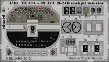 B-24D cockpit interior S.A.-Revell/Monogram