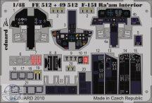 F-15I Ra'aM interior S.A. - 1/48 - Academy