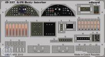 G4M Betty interior S.A.-Tamiya
