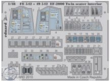 EF-2000 Two-seater interior S.A.- Revell