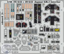 Jaguar GR.1 interior S.A.- 1/48 - Kitty Hawk